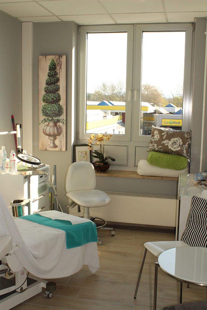 Behandlungsräume Kosmetikinstitut Martina Peschek